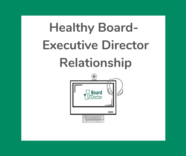 Health Board-Executive Director Relationship product image