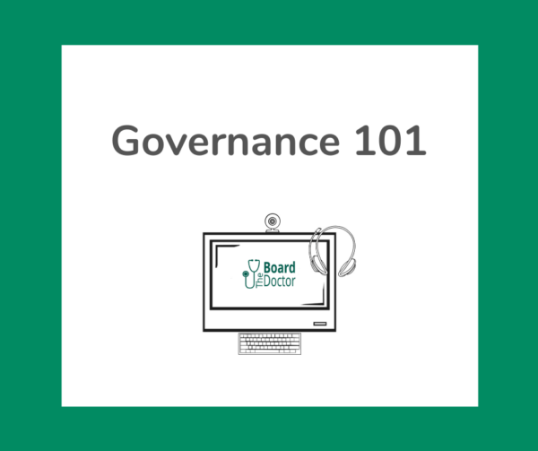 Governance 101 product image