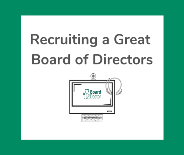 Recruiting a Great Board of Directors product image