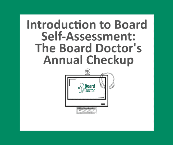 Introduction to Board Self-Assessment Product Image